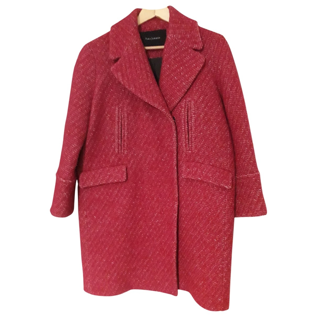 Tara Jarmon \N Pink Wool coat for Women 38 FR