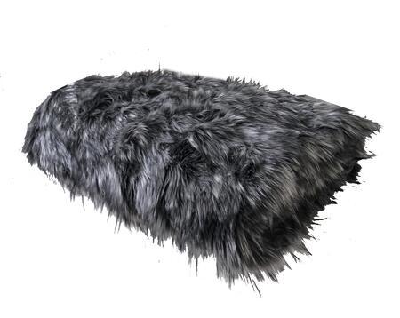 Grey Wolf Collection PBEZ1423-7090-TC 70L x 90W Twin Faux Fur Luxury