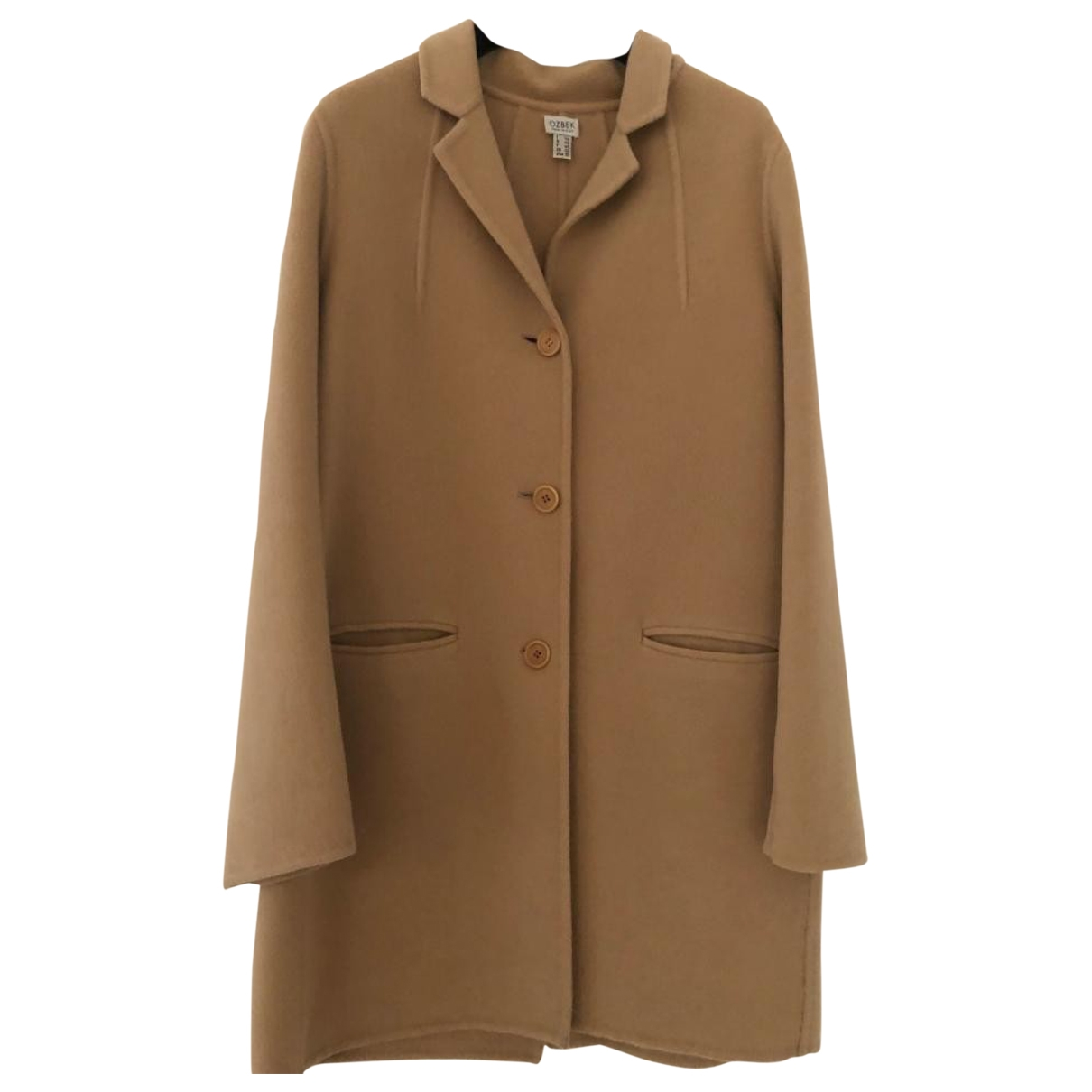 Rifat Ozbek \N Camel Cashmere coat for Women 44 IT