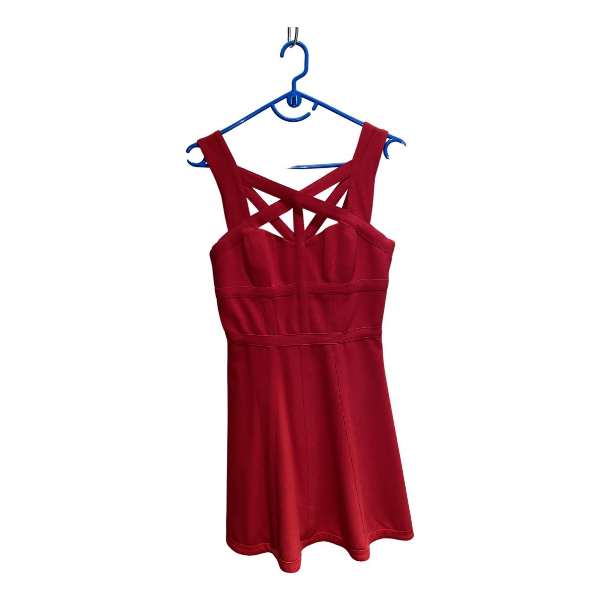 Bcbg Max Azria - Robe   pour femme - rouge