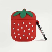 1pc Strawberry Shaped AirPods Case