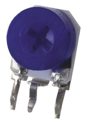 Bourns 2kΩ, Through Hole Trimmer Potentiometer 0.2W Side Adjust , 3306 (10)