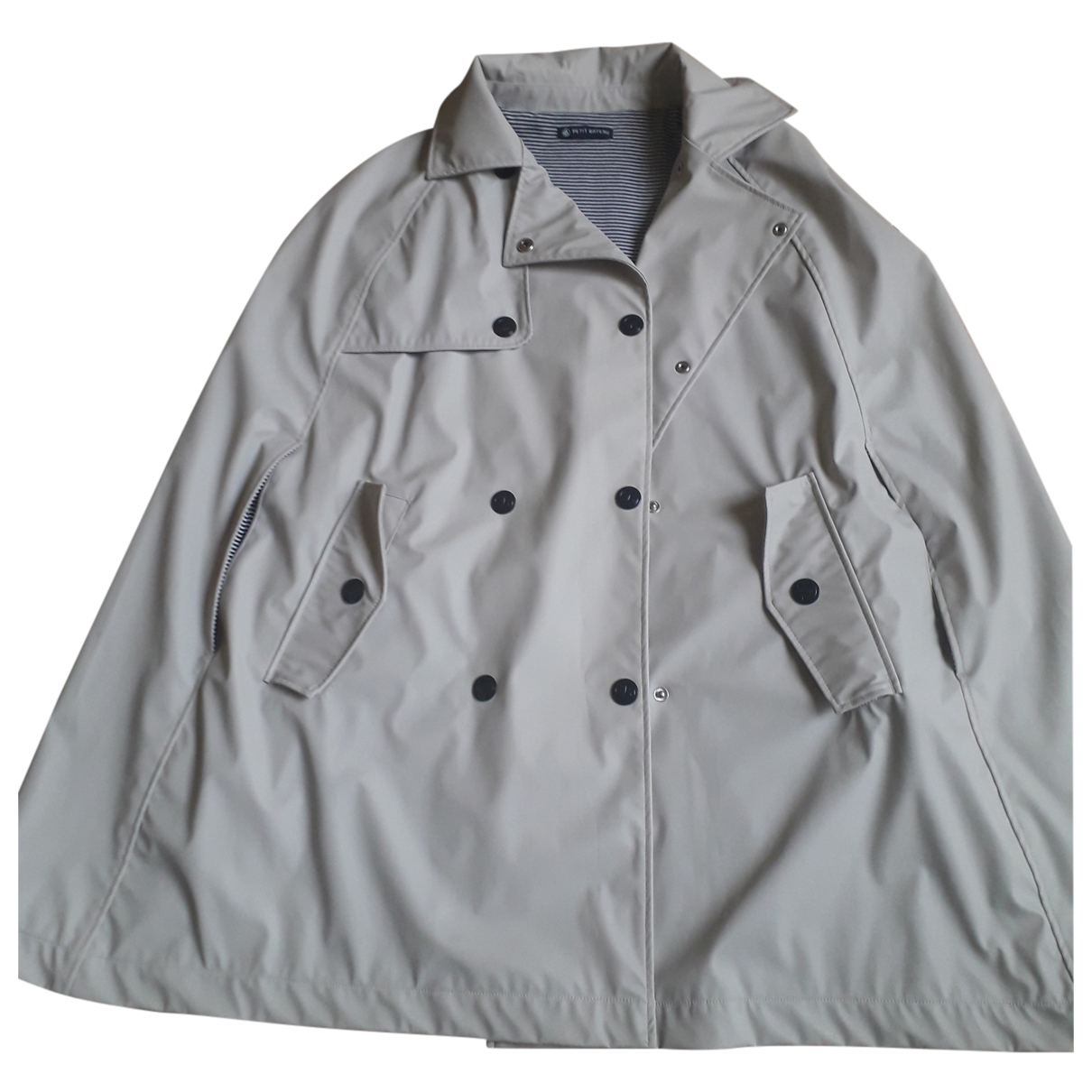 Petit Bateau N Grey Trench coat for Women 42 FR