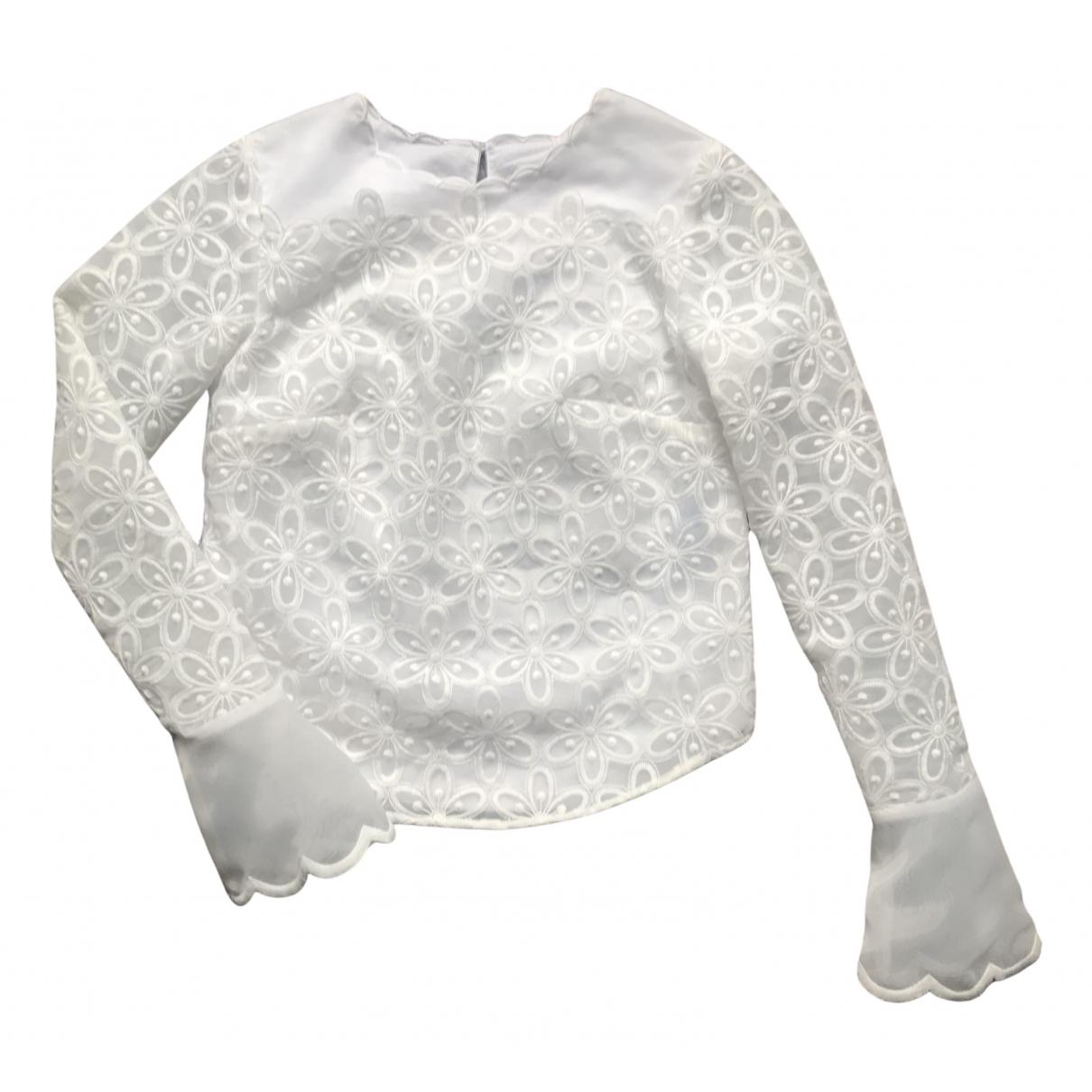 Manoush N White  top for Women 34 FR