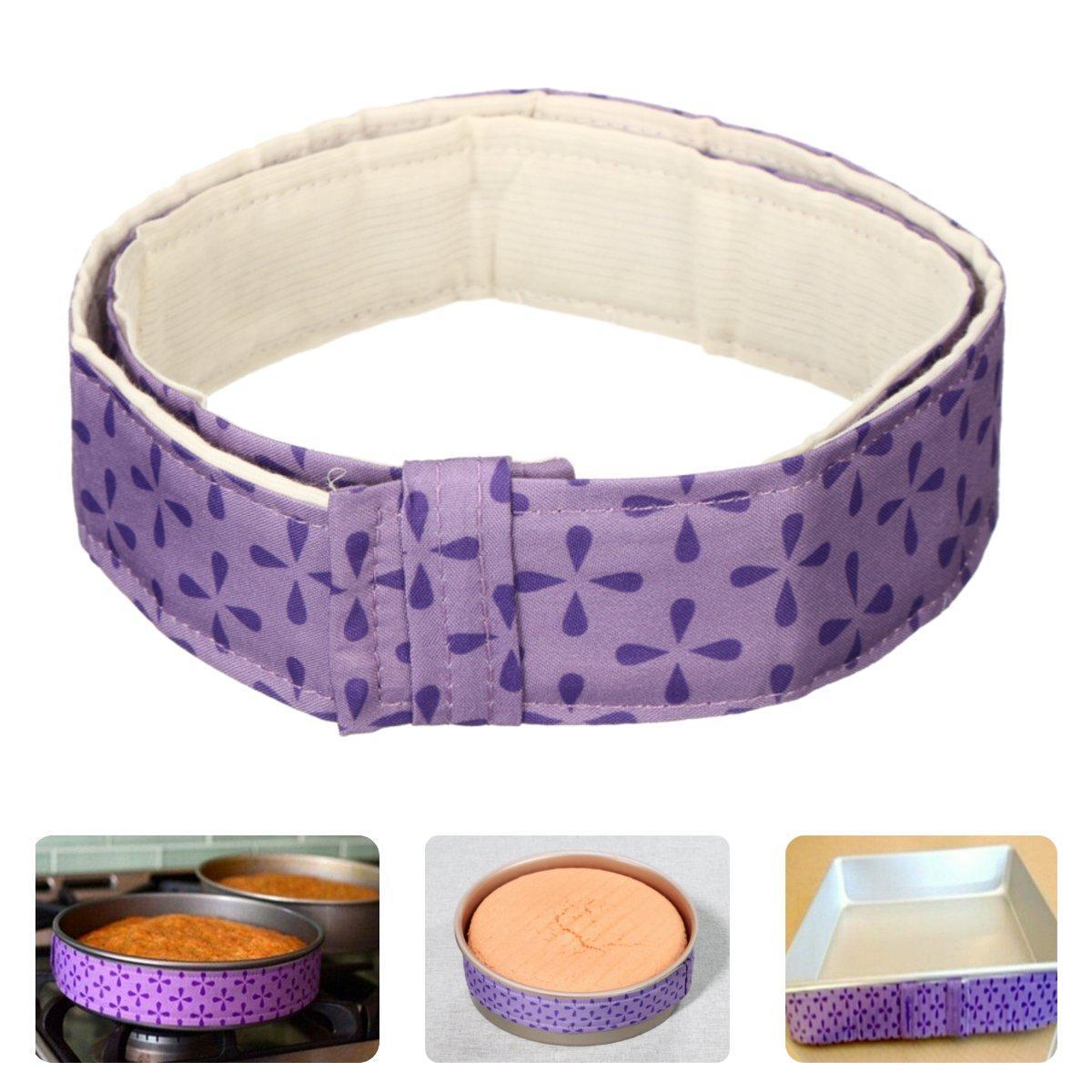 DIY Bake Strip Cake Pan Tray Protection Belt Anti-Deformation Strap Baking Handhold Mat Tool