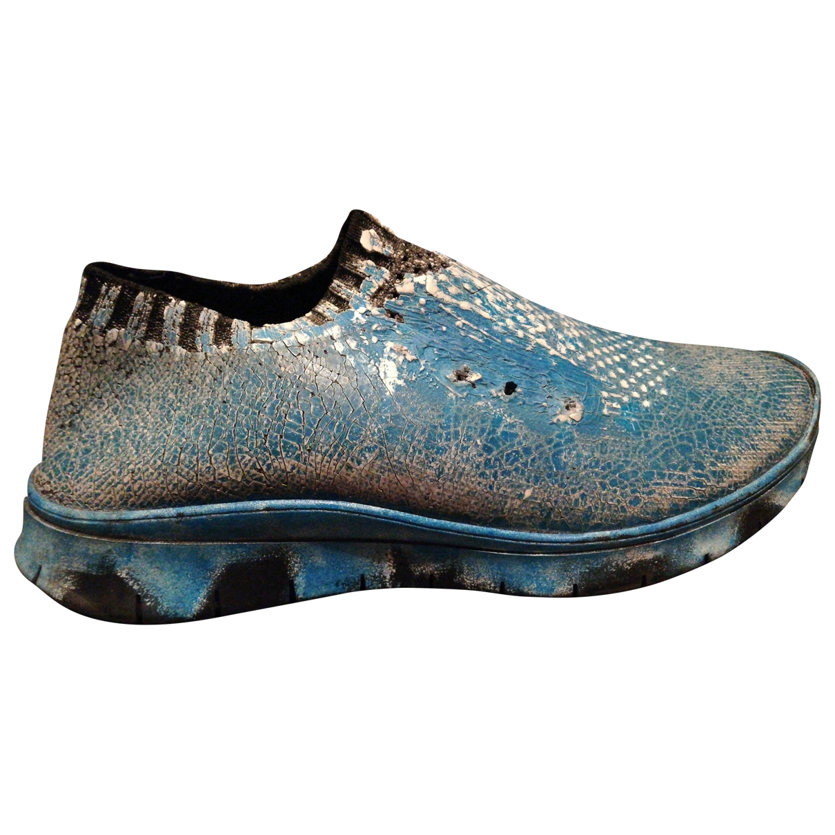 Maison Martin Margiela \N Blue Cloth Trainers for Men 42 EU