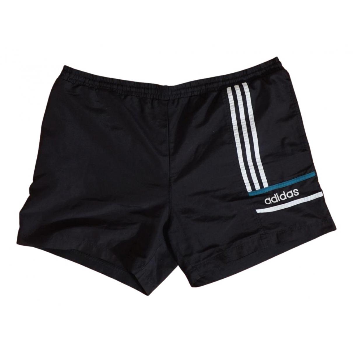 Adidas \N Shorts in  Schwarz Synthetik
