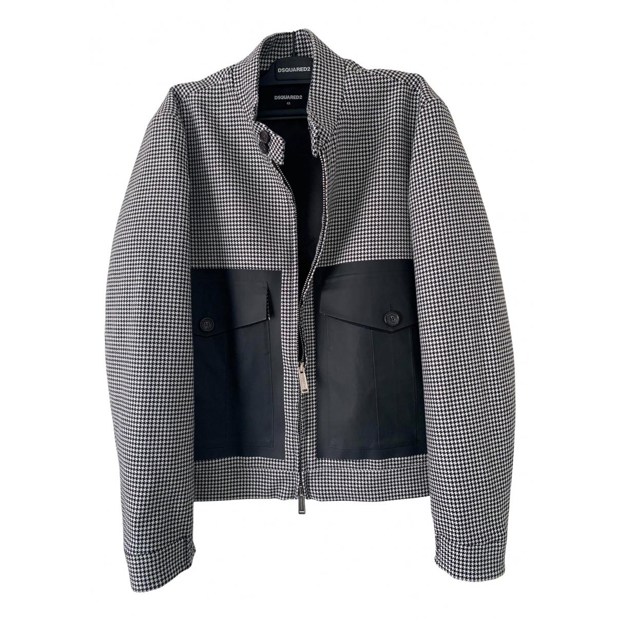 Dsquared2 \N Jacke in  Grau Wolle