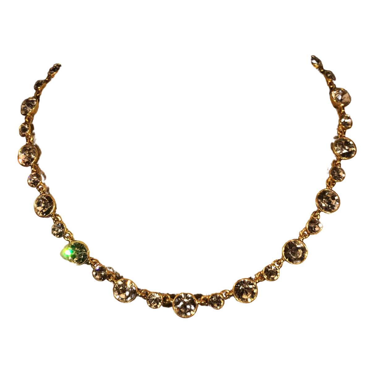 Givenchy - Collier   pour femme en cristal - dore