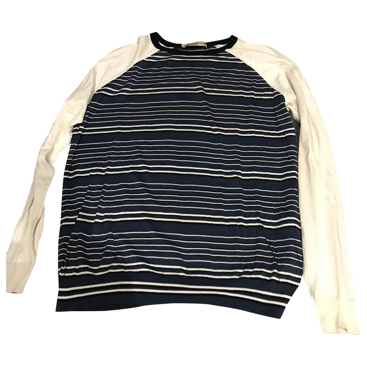 Balenciaga \N Pullover.Westen.Sweatshirts  in  Blau Baumwolle