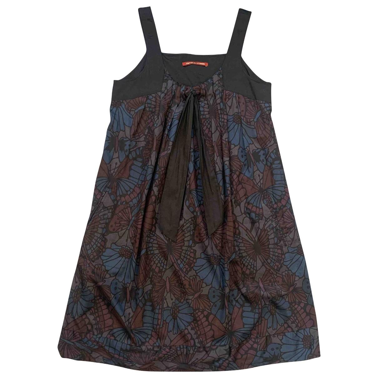 Comptoir Des Cotonniers \N Multicolour Cotton dress for Women 40 FR