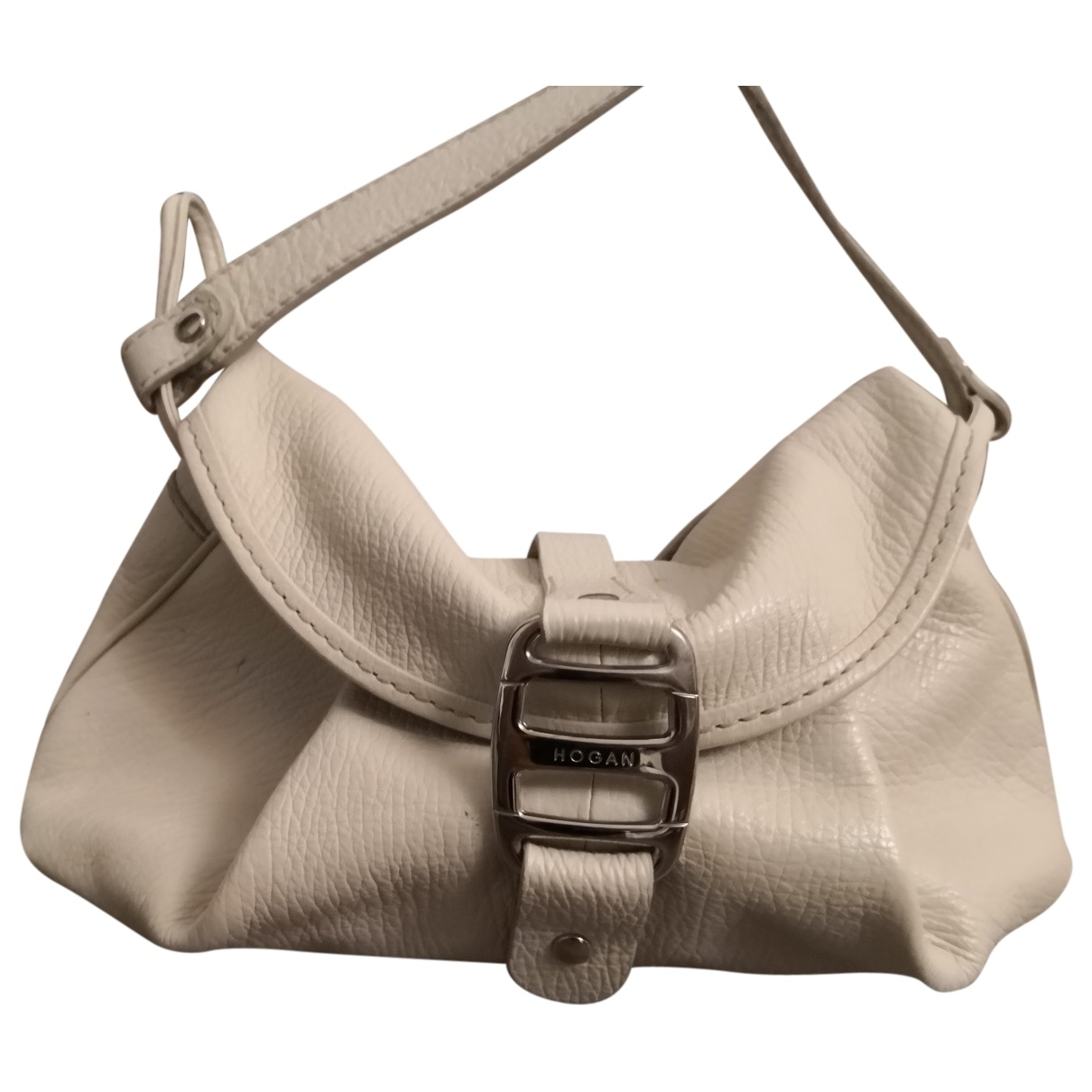 Hogan \N Handtasche in  Weiss Leder