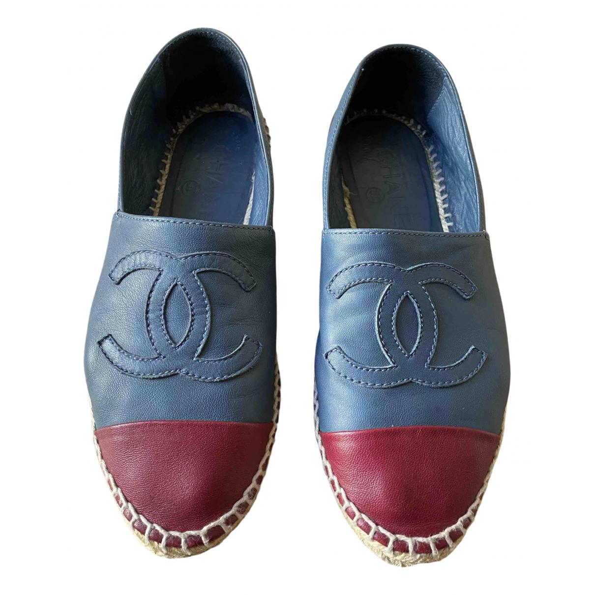Chanel \N Multicolour Leather Espadrilles for Women 36 EU