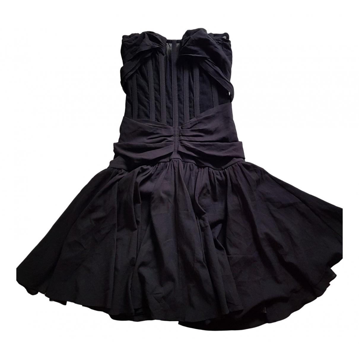 Dolce & Gabbana \N Kleid in  Schwarz Seide