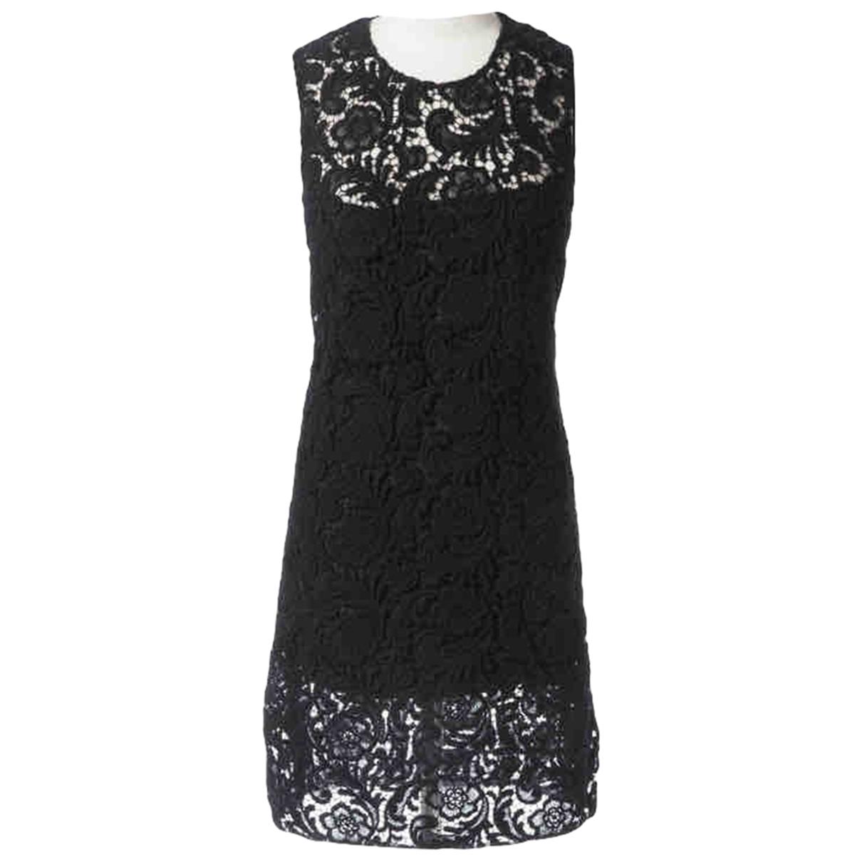 Mini vestido de Encaje Prada