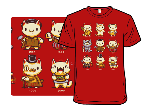 9 Lives Of Adventure T Shirt