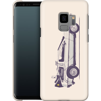 Samsung Galaxy S9 Smartphone Huelle - Delorean von Florent Bodart