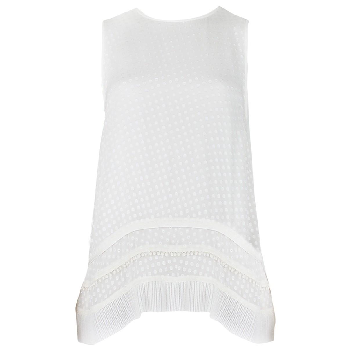 Proenza Schouler \N White Silk  top for Women 2 US