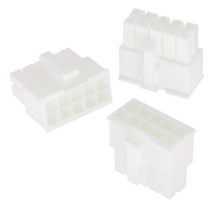 Wurth Elektronik , WR-MPC4 Female Connector Housing, 4.2mm Pitch, 6 Way, 2 Row (5)