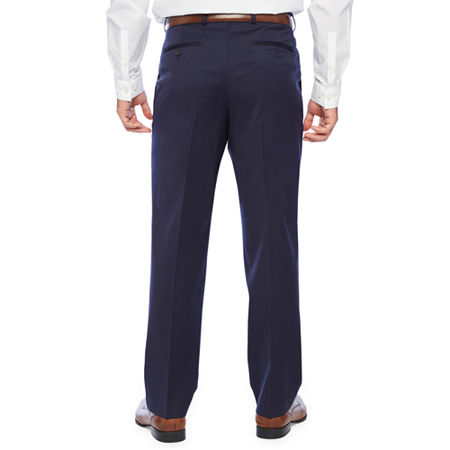 Stafford Super Suit Classic Fit Suit Pants, 44 30, Blue