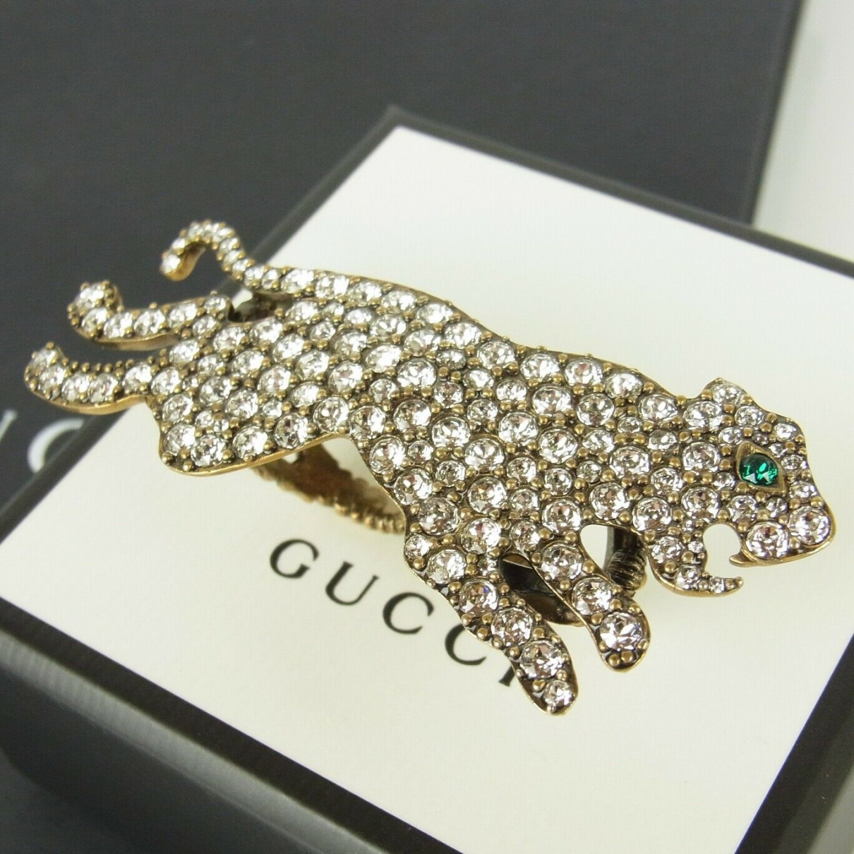 Gucci \N Gold Gold plated ring for Women 6 US