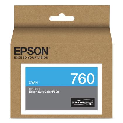 Epson 760 T760220 Original Cyan Ink Cartridge