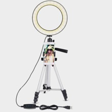 Selfie Ring Light With Tripod Stand & Phone Holder