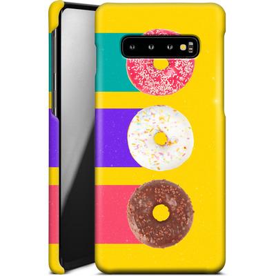Samsung Galaxy S10 Plus Smartphone Huelle - Donuts von Danny Ivan