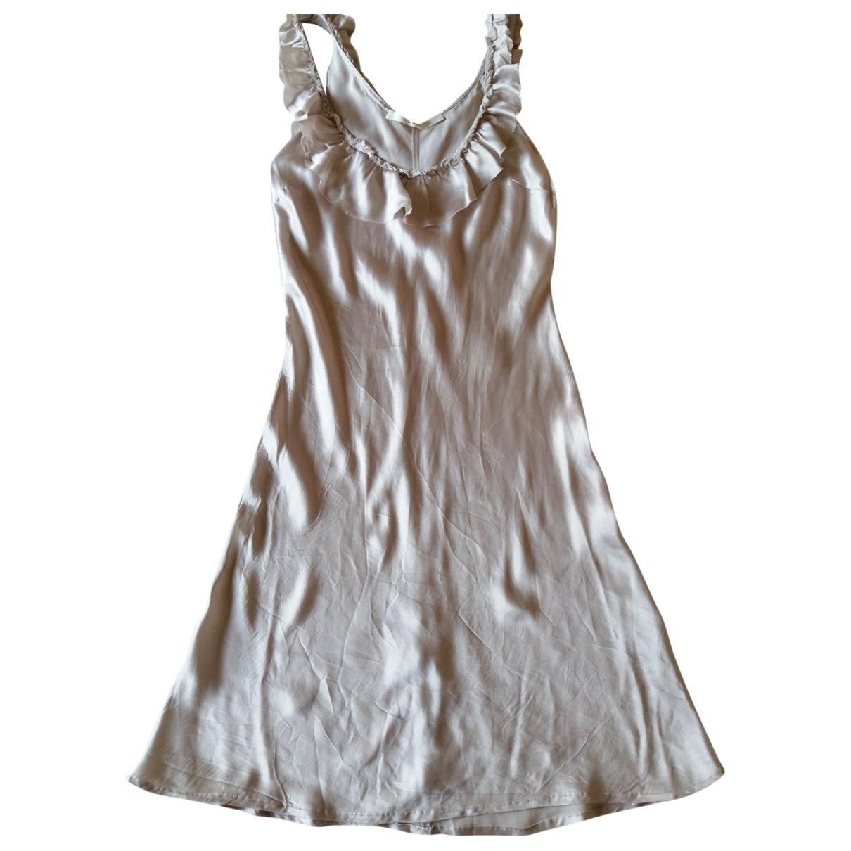 Jucca \N Kleid in  Rosa Seide