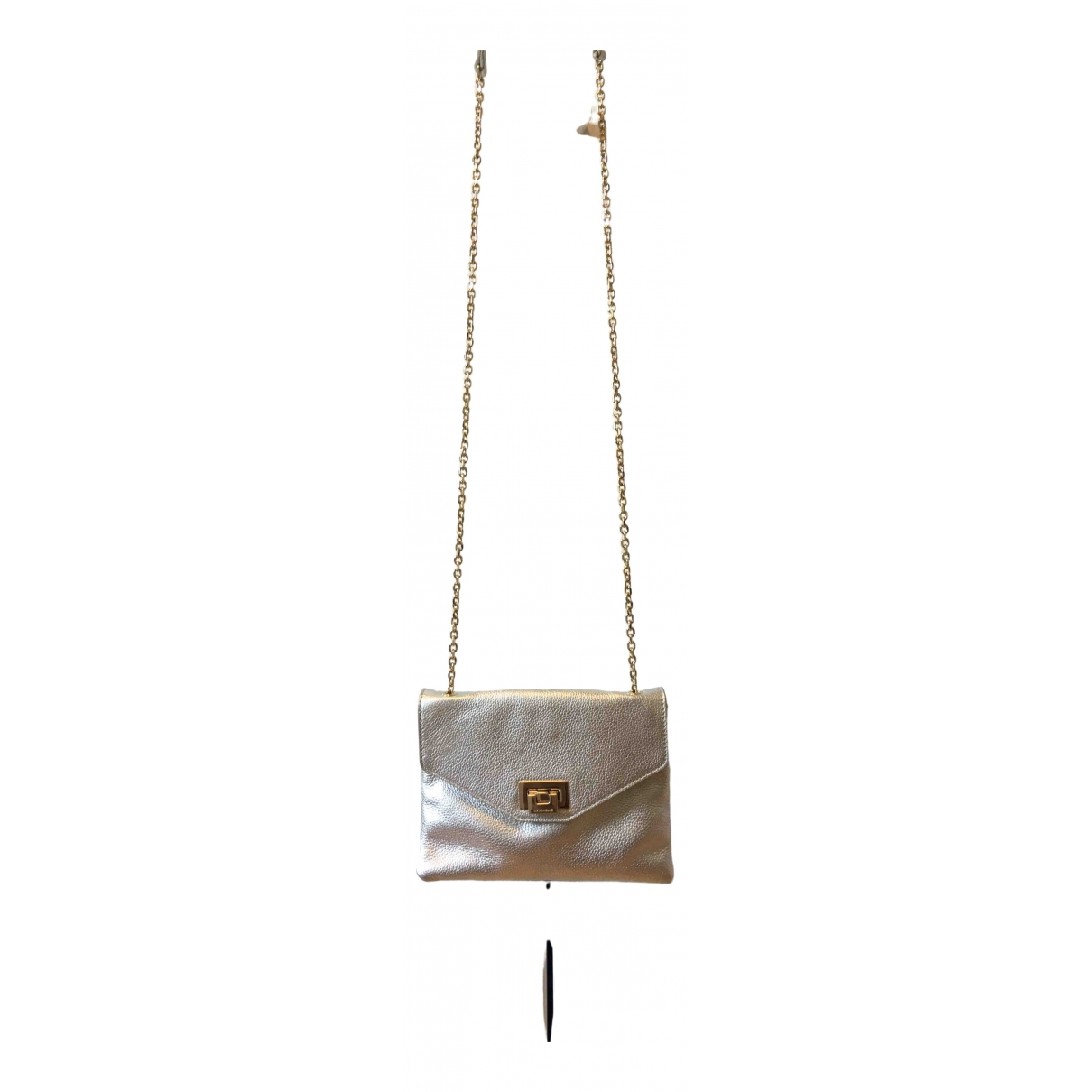 Coccinelle \N Silver Leather handbag for Women \N