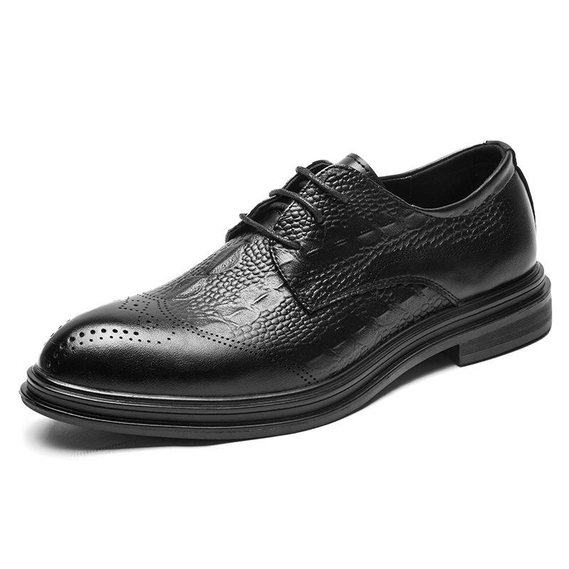 Ericdress Plain Lace-Up Men's Shoes