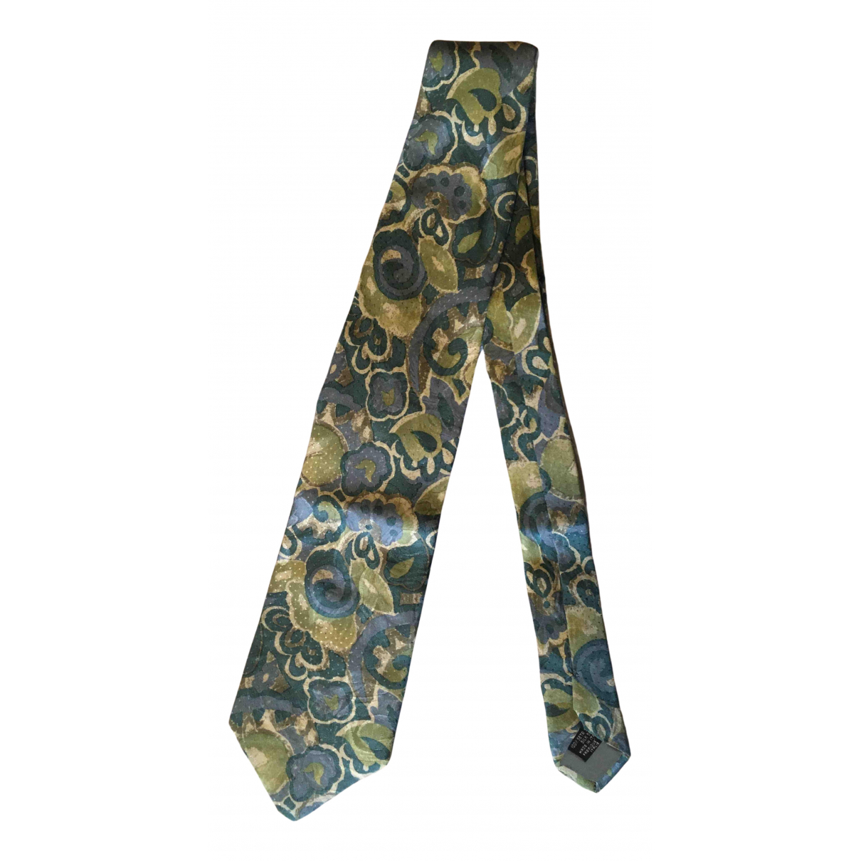 Kenzo - Cravates   pour homme en soie - multicolore