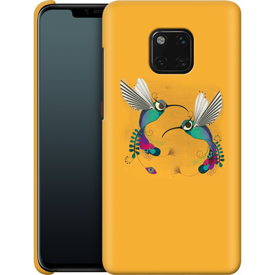 Huawei Mate 20 Pro Smartphone Huelle - Hummingbirds von Victoria Topping