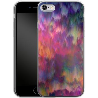 Apple iPhone 6 Silikon Handyhuelle - Sunset Storm von Amy Sia