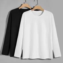 2 piezas camiseta de manga larga