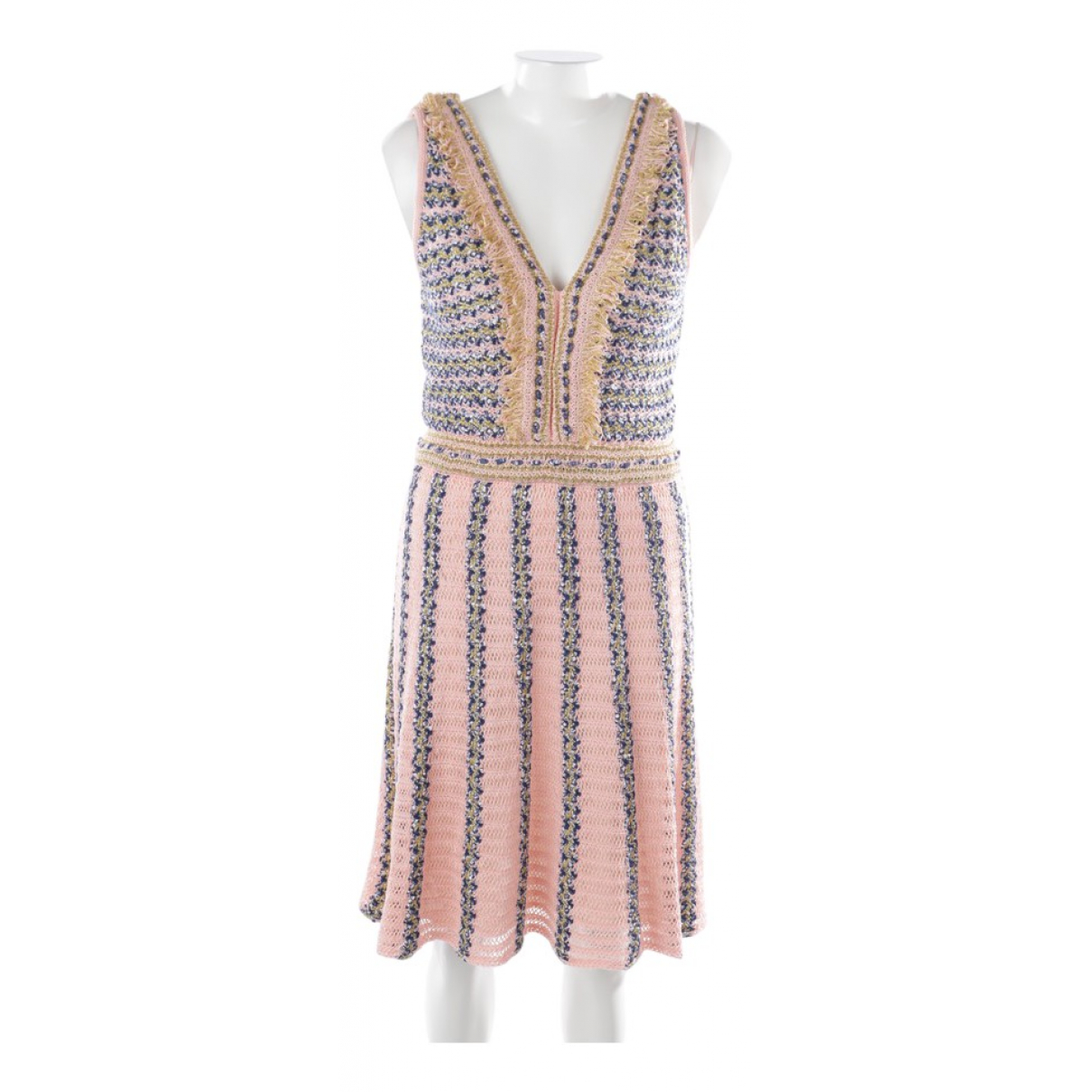 M Missoni \N Pink Cotton dress for Women 40 FR