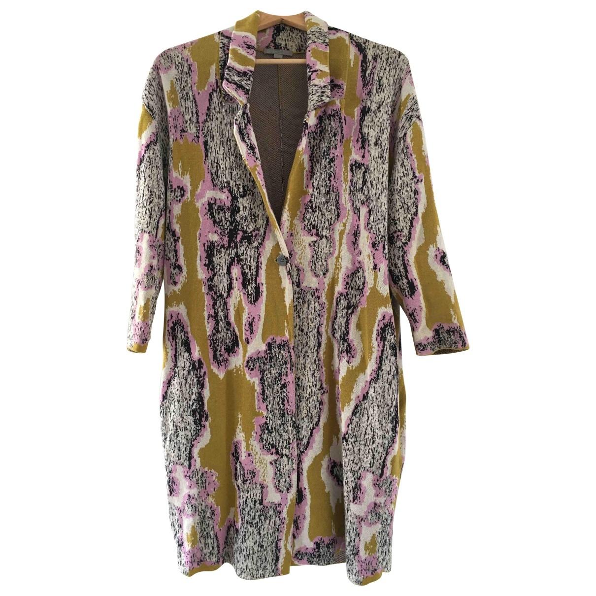 Cos - Veste   pour femme en coton - multicolore