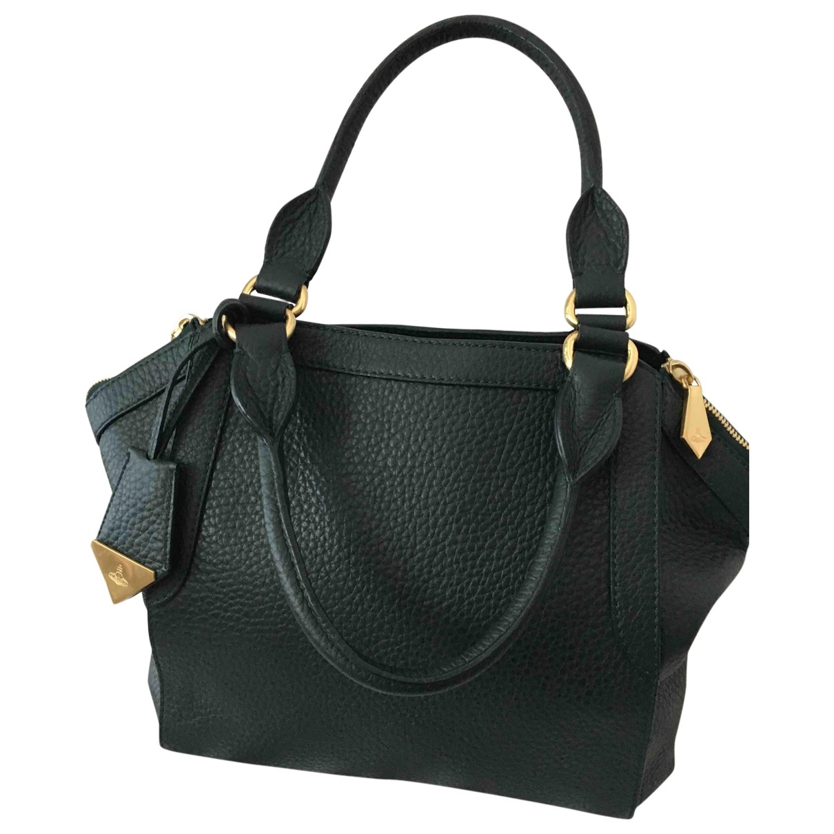 Vivienne Westwood \N Green Leather handbag for Women \N