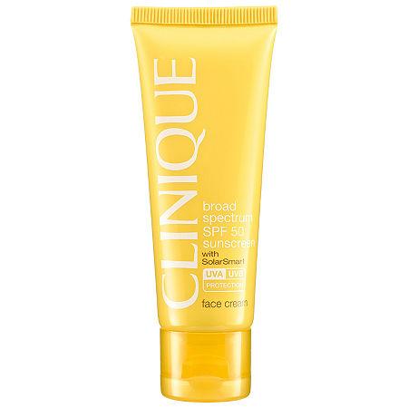 CLINIQUE Broad Spectrum SPF 50 Sunscreen Face Cream, One Size , No Color Family