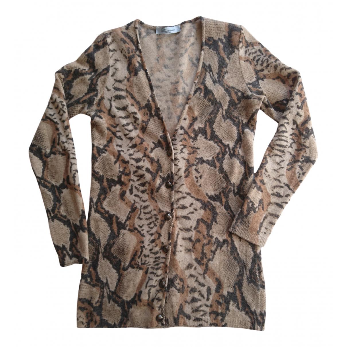 Blumarine \N Beige Wool Knitwear for Women 42 IT