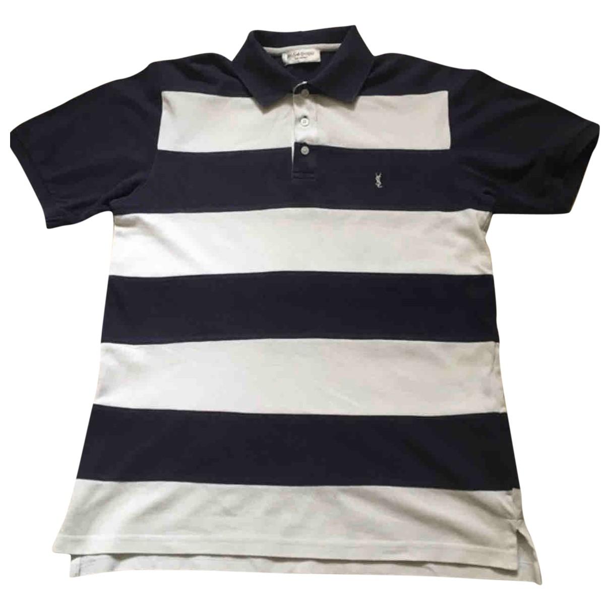 Yves Saint Laurent \N Multicolour Cotton Polo shirts for Men M International