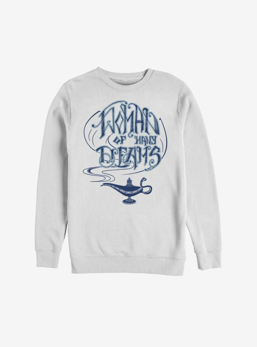 Disney Aladdin 2019 Women Of Many Dreams Sweatshirt