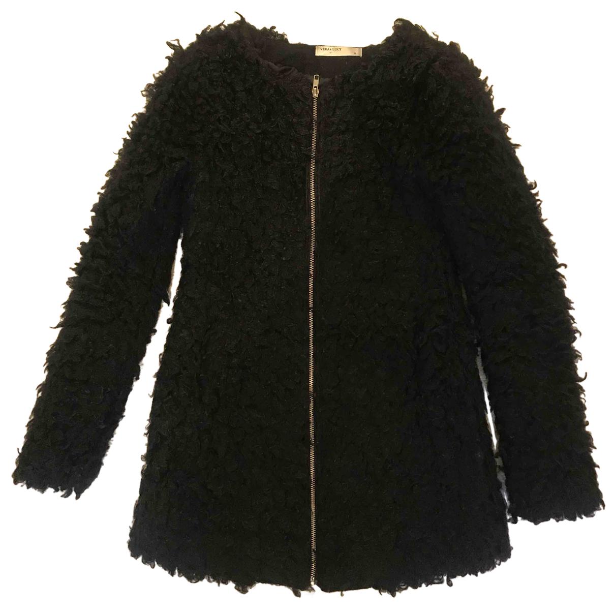 Non Signé / Unsigned N Black coat for Women S International