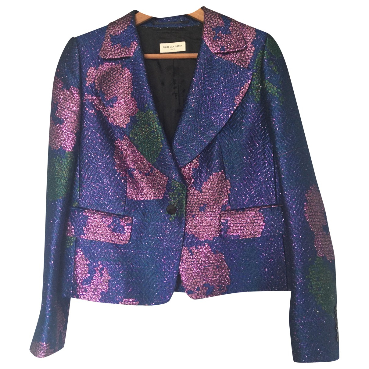Dries Van Noten - Veste   pour femme en lin - multicolore