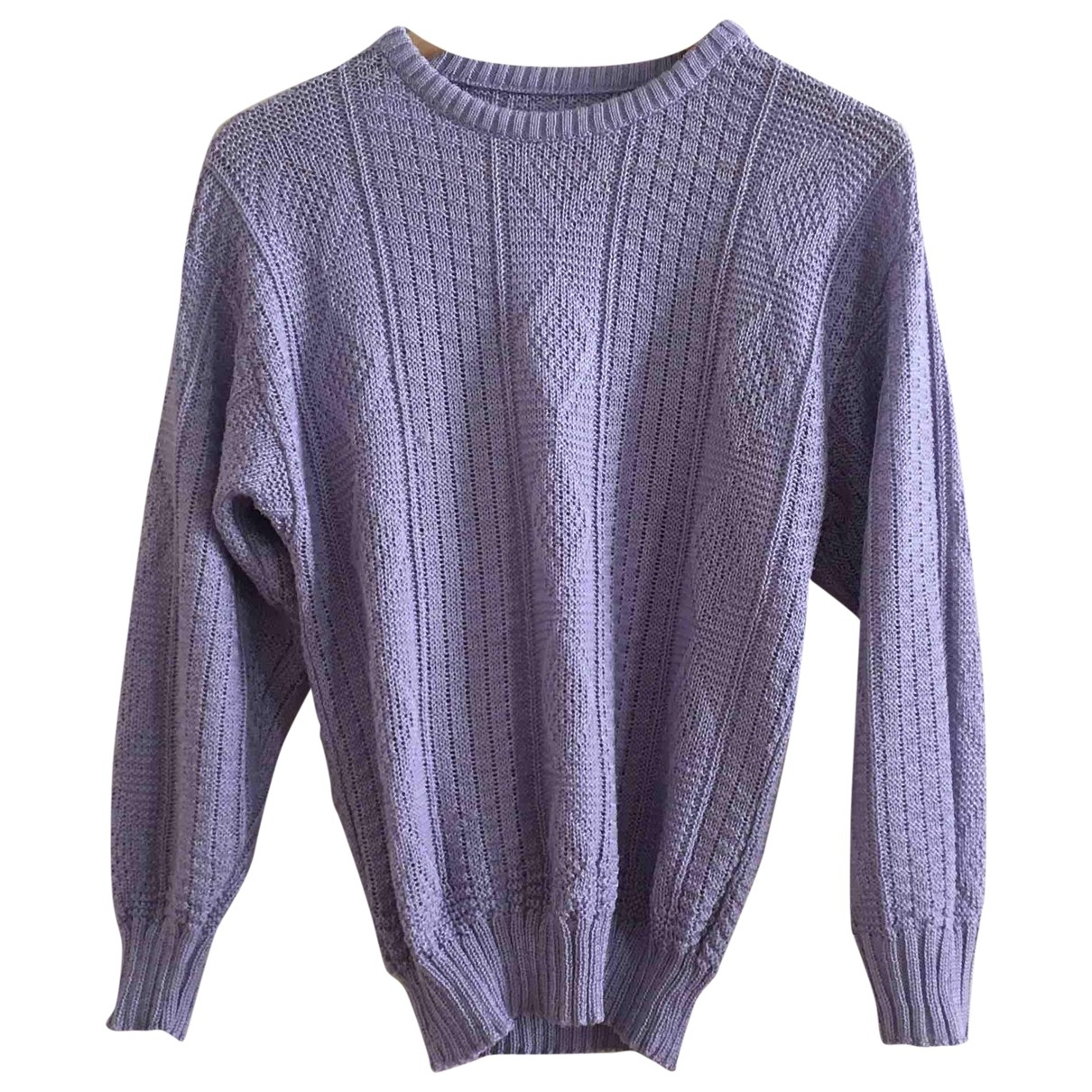 Non Signé / Unsigned \N Purple Knitwear for Women 38 FR