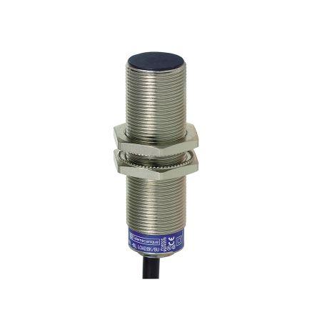 Telemecanique Sensors M18 x 1 Inductive Proximity Sensor - Barrel, NC Output, 8 mm Detection, IP68, IP69K, Cable