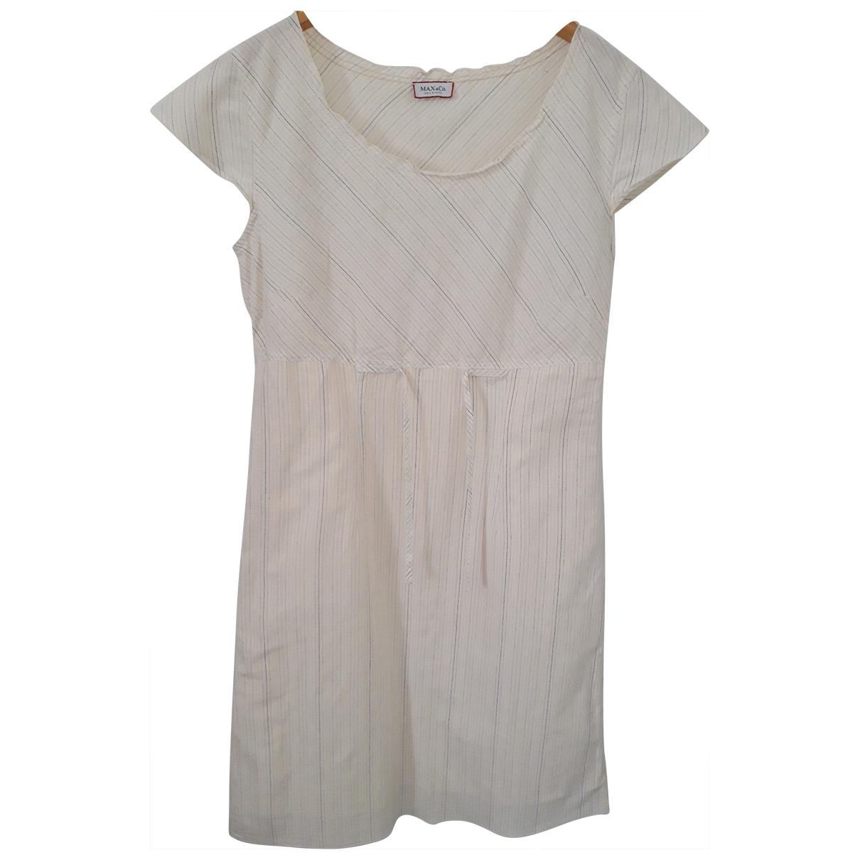 Max & Co N Beige Cotton dress for Women 42 IT