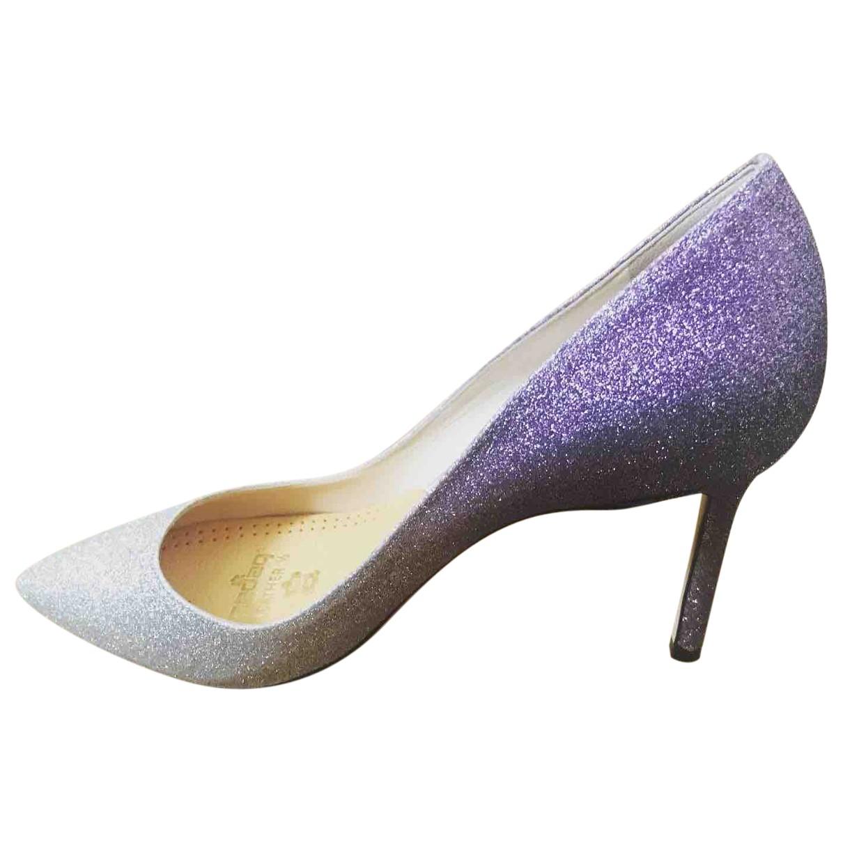 Jimmy Choo Romy Multicolour Glitter Heels for Women 39 EU