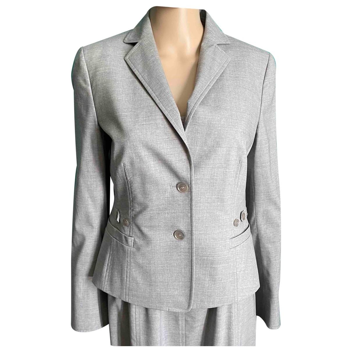 Akris Punto - Veste   pour femme en laine - gris
