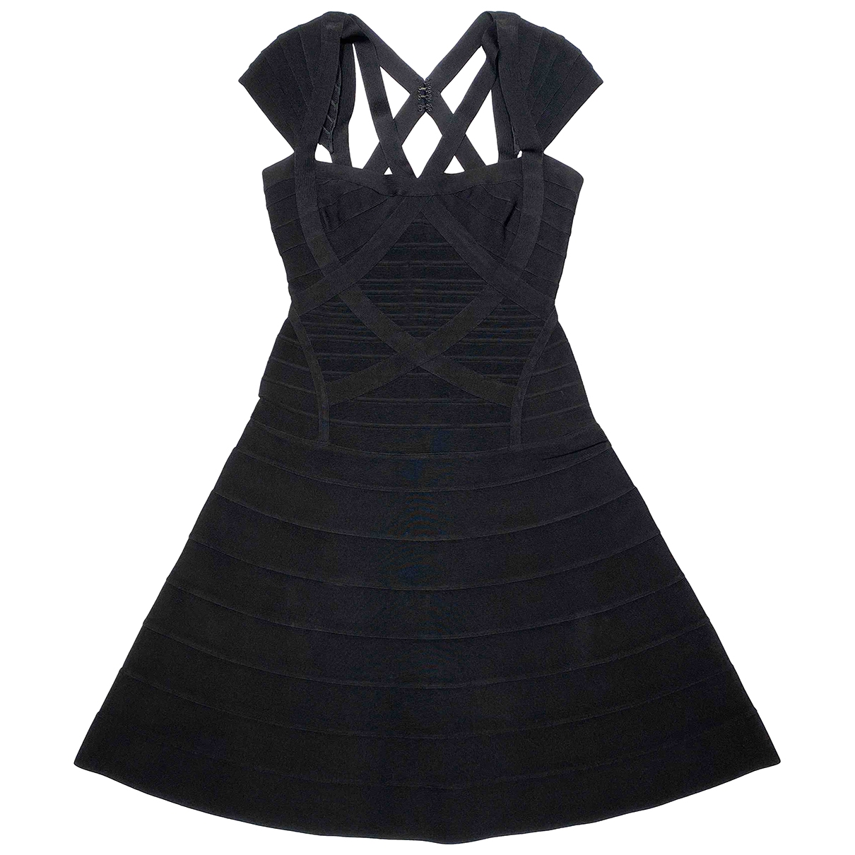 Herve Leger \N Black dress for Women M International